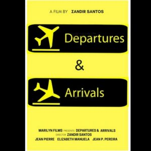 Departures & Arrivals, coming of age short film. Flight ticket. Click to enhance viewing. Product number 1394. Available on www.marilynfilms.com.