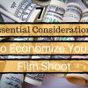 7 Essential Considerations To Economize Your Film Shoot. Money. Dollars. Dollar bills.