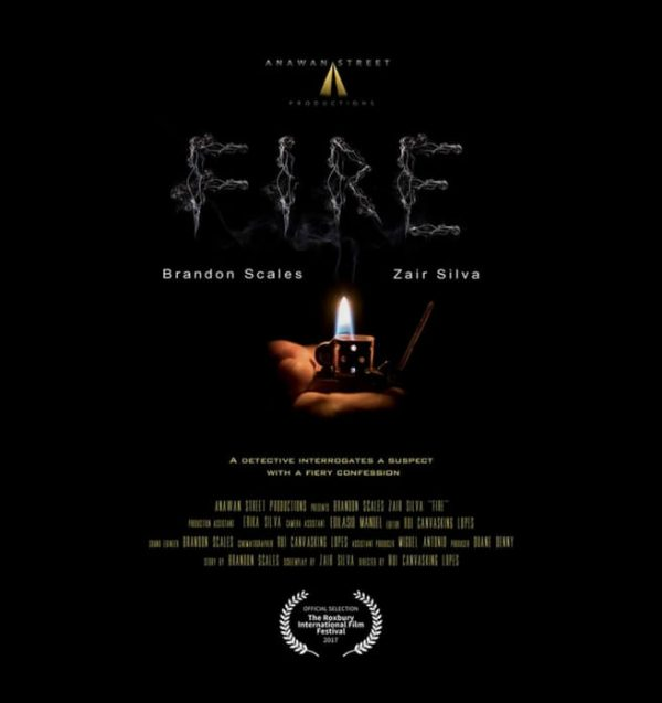 Fire, short suspense thriller film. Lit lighter. Click to enhance viewing. Product number 1423. Available on www.marilynfilms.com.