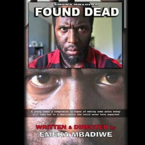 Bearded Black Man, Text, Found Dead poster