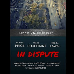 In Dispute, love drama short film. Birds eye view, Manhattan. Click to enhance viewing. Product number 1378. Available on www.marilynfilms.com.