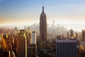 New York City, Manhattan. Empire State Building. New York City, Filmmaking With A Splash.