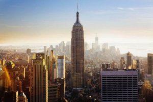 New York City, Manhattan. Empire State Building. New York City, Filmmaking With A Splash.