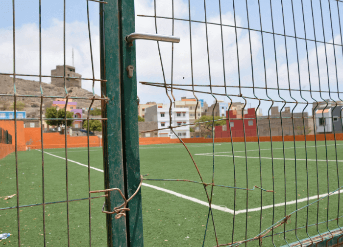 Cape Verde's Soccer Fields...They're closed to the public. Why?