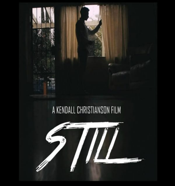 Still, short thriller film. Man by window. Click to enhance viewing. Product number 1420. Available on www.marilynfilms.com.