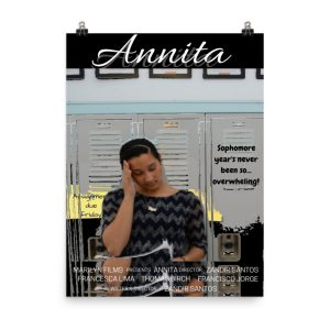 Annita movie poster. Click to enhance viewing. Available on www.marilynfilms.com, product number 1657.
