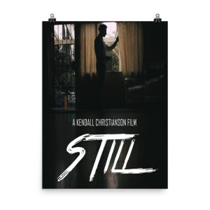 Still movie poster. Man by window. Click to enhance viewing. Available on www.marilynfilms.com, product number 1653.