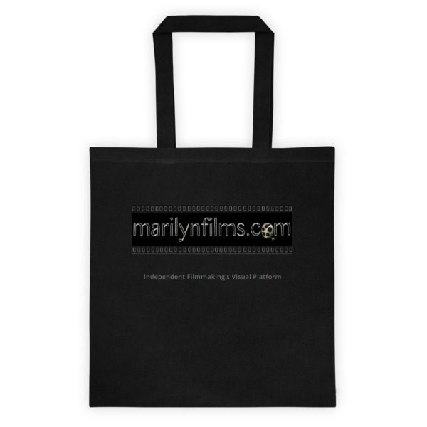 TOTE BAG: Click for enhanced viewing. Available on www.marilynfilms.com, Merchandise + page.